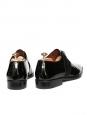 Chaussures Richelieu en cuir verni et suède noir Prix boutique 610€ Taille 43,5
