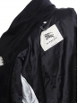 Manteau trench en laine bleu marine Prix boutique 1800€ Taille 48 / S