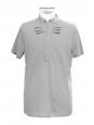 Polo col Mao en coton gris Prix boutique 110€ Taille M