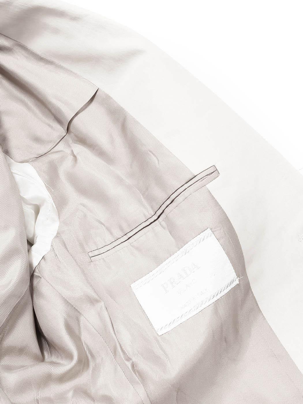 239e5bc0232f4 ... Veste blazer classique crème écru Prix boutique 950€ Taille 50   M ...