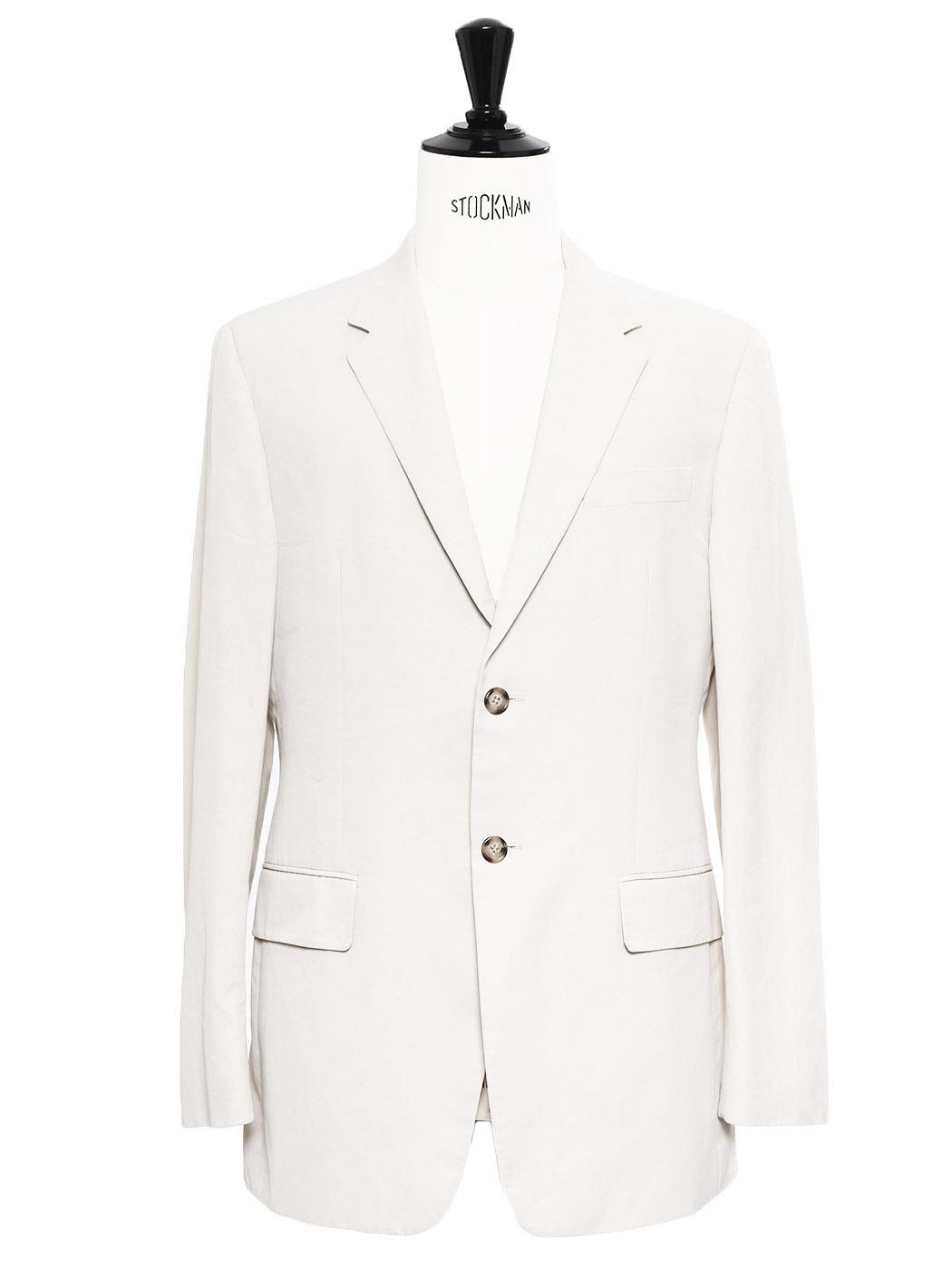 Louise paris prada veste blazer classique cr me cru for Taille baignoire classique