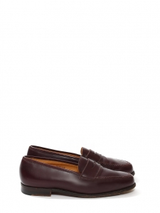 4c92bb7d4aa Cognac brown leather ROEDEAN loafers Retail price €495 Size 40