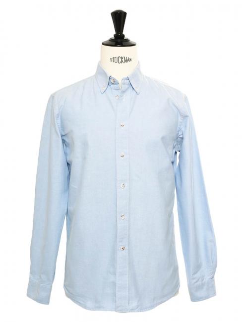 Light blue cotton Oxford shirt Retail price €64 Size S