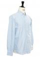 Chemise Oxford en coton bleu clair Prix boutique 64€ Taille S