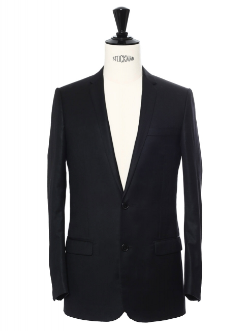 Black wool suit Retail price €2000 Size 44