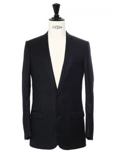 Costume classique en laine noire Prix boutique 2000€ Taille 44