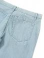 Jean slim fit en coton bleu clair délavé NEUF Prix boutique 160€ Taille 30