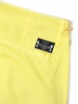 Lemon yellow cotton-twill tapered chino pants NEW Retail price €200 Size 30