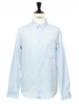 Light blue cotton button-down Oxford shirt NEW Retail price €150 Size L