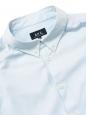 Chemise Oxford en coton bleu ciel NEUVE Prix boutique 150€ Taille L
