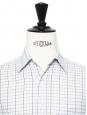 Light blue striped fine cotton shirt NEW Retail price €160 Size 38 / S