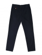 Navy blue cotton-twill BRIX chino pants NEW Retail price €80 Size M