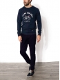 Navy blue cotton-twill BRIX chino pants NEW Retail price €80 Size L