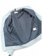 Veste blouson teddy HERVE en gabardine de coton bleu ciel NEUVE Prix boutique 390€ Taille S