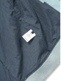 Sky blue cotton gabardine varsity jacket NEW Retail price $499 Size XS