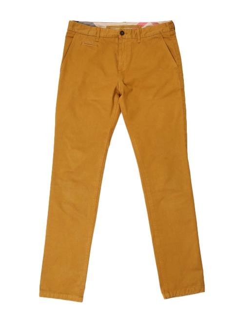 Caramel brown cotton-twill chino pants NEW Retail price €225 Size M