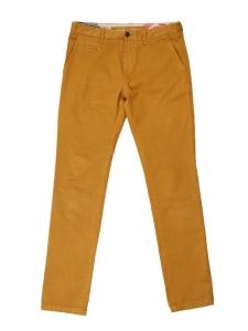 Pantalon chino en toile de coton camel caramel NEUF Prix boutique 225€ Taille M
