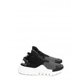 Baskets AYERO en néoprène et mesh blanche et noire NEUVES Prix boutique 320€ Taille 44