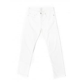Jean coupe droite en coton blanc Prix boutique 145€ Taille 33