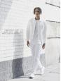 Jean coupe droite en coton denim blanc Prix boutique 145€ Taille 33