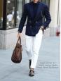 White cotton denim straight cut jeans Retail price €145 Size 33