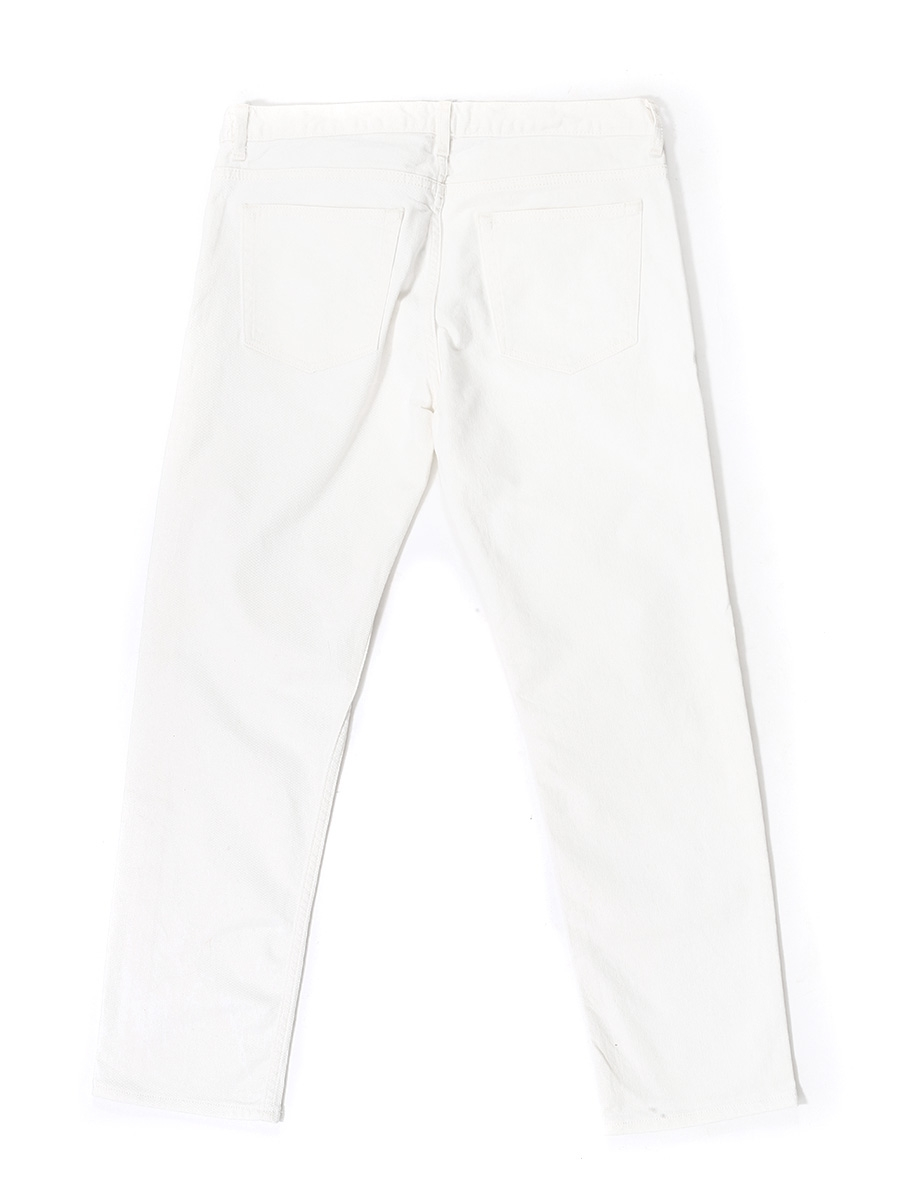 1bfe7145b43f6a Louise Paris - SANDRO White cotton denim straight cut jeans Retail ...