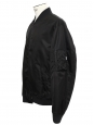 Veste bomber noir ébène NEUVE Prix boutique 450€ Taille XL