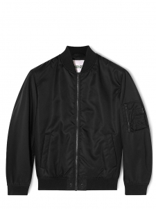 Black bomber jacket NEW Retail price €450 Size XL