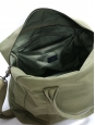 Olive green cotton-canvas weekender bag NEW Retail price €225