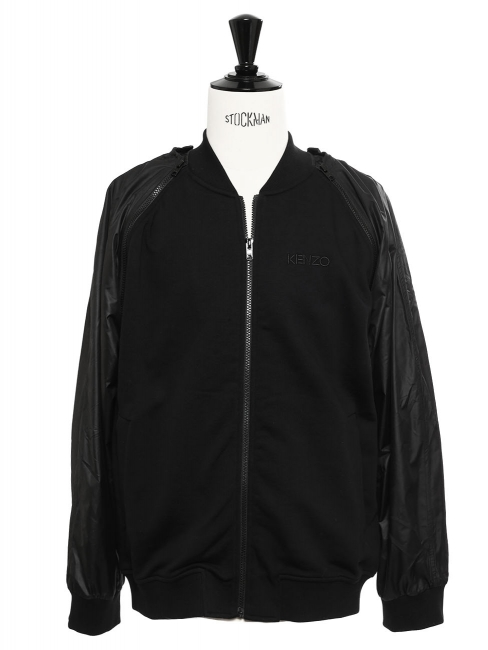 Black track jacket NEW Retail price €395 Size XL