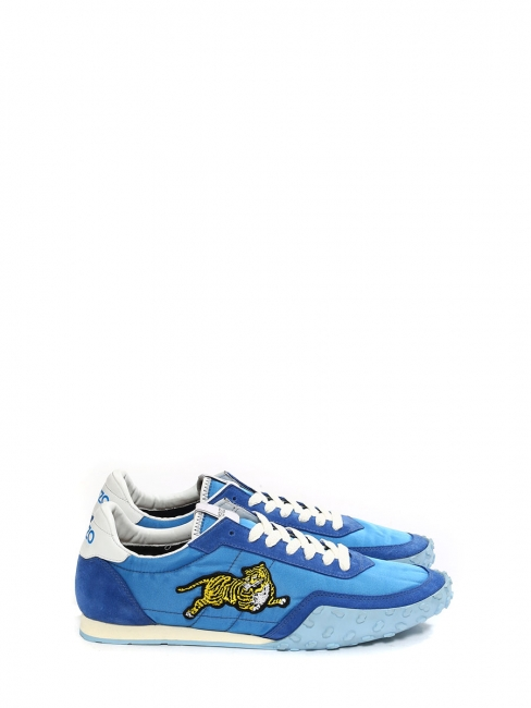 French blue KENZO MOVE sneakers NEW Retail price €195 Size 44