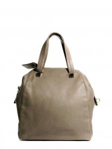 Maxi sac en cuir grainé beige kaki Prix boutique 2500€