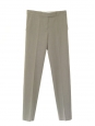 Light khaki green cotton tapered pants Retail price 650 Size 38