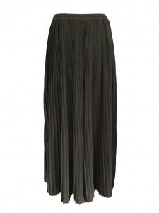 Jupe longue plissée NELLI vert kaki Prix boutique 305€ Taille 40