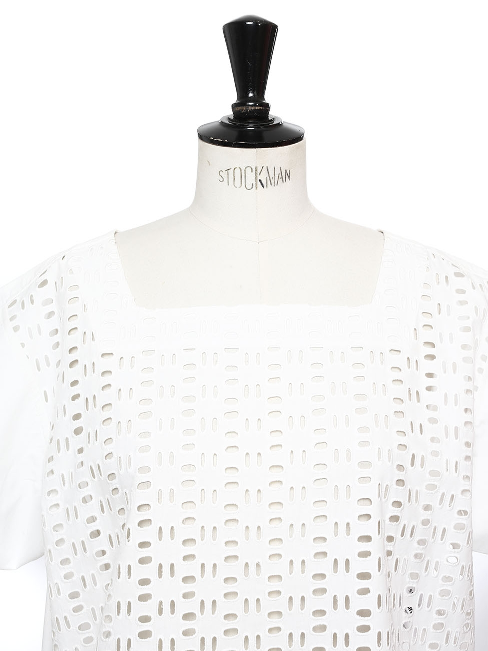 see by chloe cotton dress white