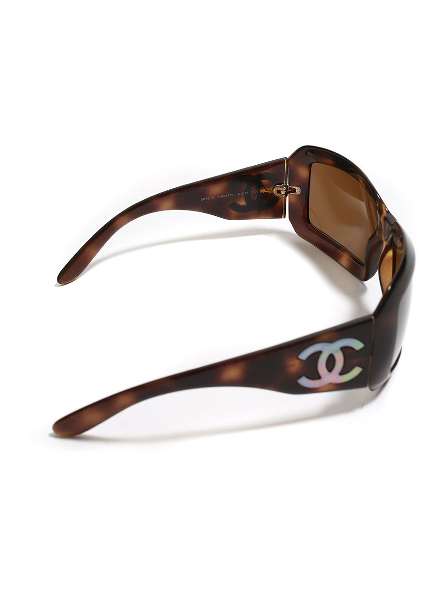 f2aa3b5a28 ... Brown tortoiseshell and mother of pearl 5076H sunglasses Retail price  €220 ...