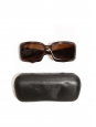 Brown tortoiseshell and mother of pearl 5076H sunglasses Retail price €220