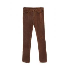 Pantalon 612 slim en velours côtelé marron caramel Prix boutique 170€ Taille 36/38