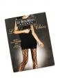 Collants bas Graphique chic noirs en voile elasthanne 30D NEUFS Prix boutique 25€ Taille 2
