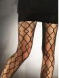 Collants graphiques noirs NEUFS Prix boutique 25€ Taille 36
