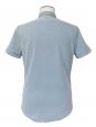 Chemise manches courtes en coton bleu ciel Prix boutique 160€ Taille S