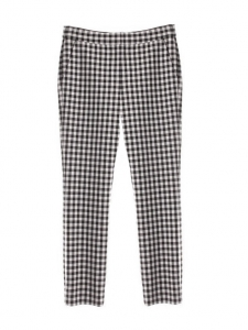 GENESIS black and white gingham print slim fit pants NEW Retail price €320 Size 38