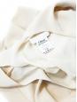 Light beige silk crepe tank top Retail price €370 Size 38/40