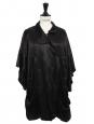 Veste robe en satin de soie noir Prix boutique 400€ Taille 38