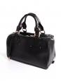 CHLOE Sac à main duffle bag Aurore en cuir noir Px boutique 1500€