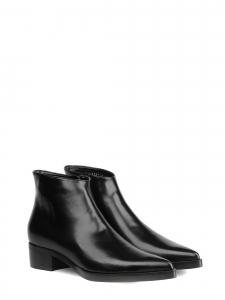 98341735d4d Bottines plates bout pointu en faux cuir noir NEUVES Prix boutique 695€  Taille 37