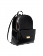 Black eco-friendly faux leather BECKETT backpack NEW Retail price €1050