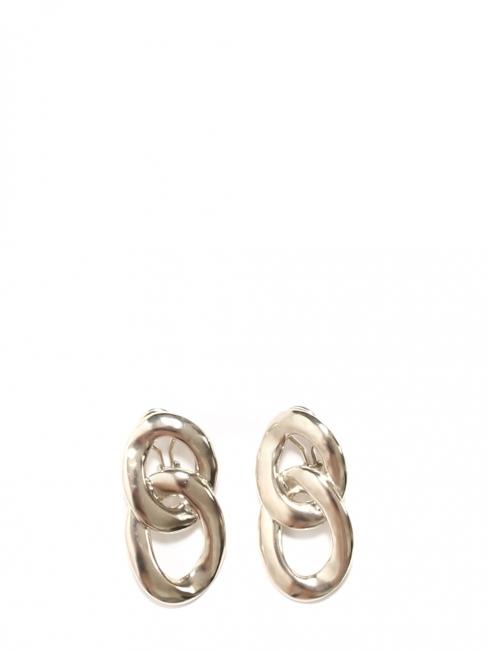 Boucles d'oreilles clip argent double anneaux Prix boutique 150€