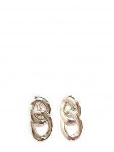 Silver-tone interlocking hoop earrings Retail price €150