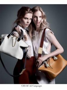 Khaki green and powder pink calf leather BAYLEE shoulder bag NEW Retail price €1400